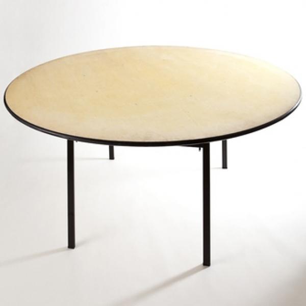 Noleggio sedie milano for Tavolo rotondo legno chiaro